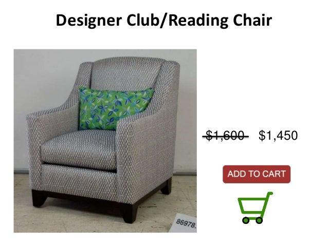 designer clubreading chair
