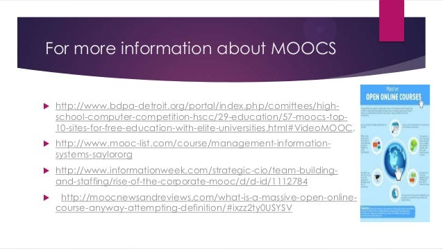 mooc list find moocs and free online courses from the