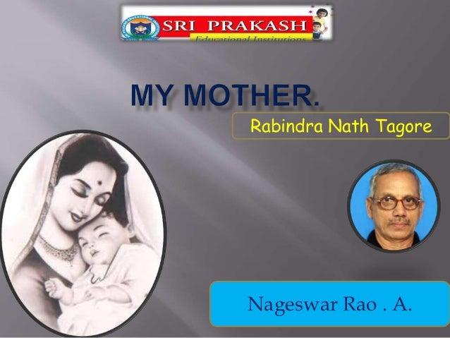 Rabindra Nath Tagore Nageswar Rao . A.