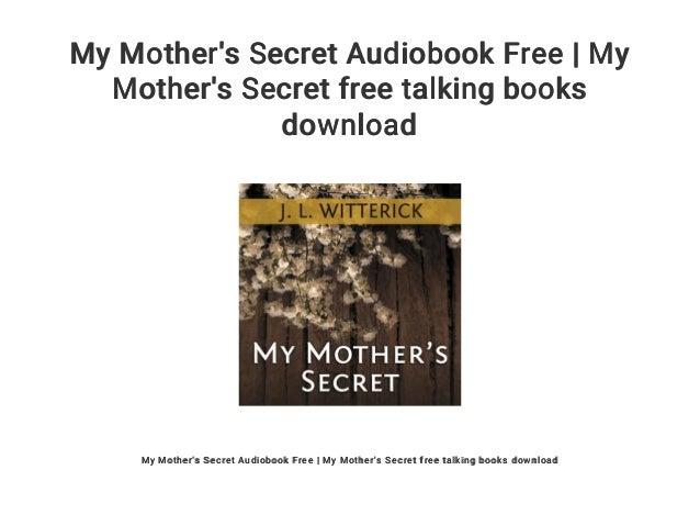 My Mothers Secret Book