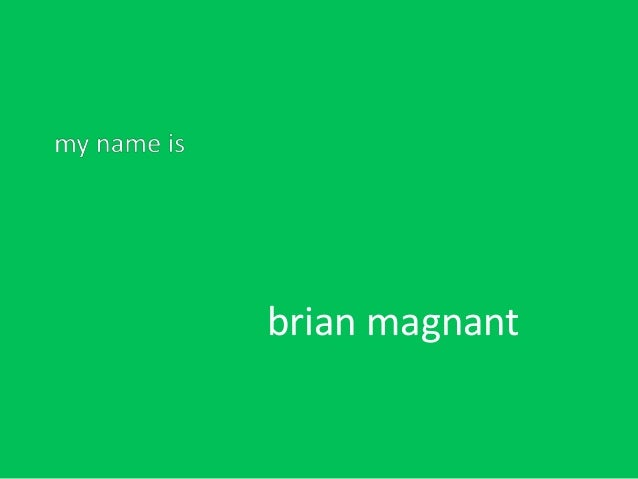 brian magnant