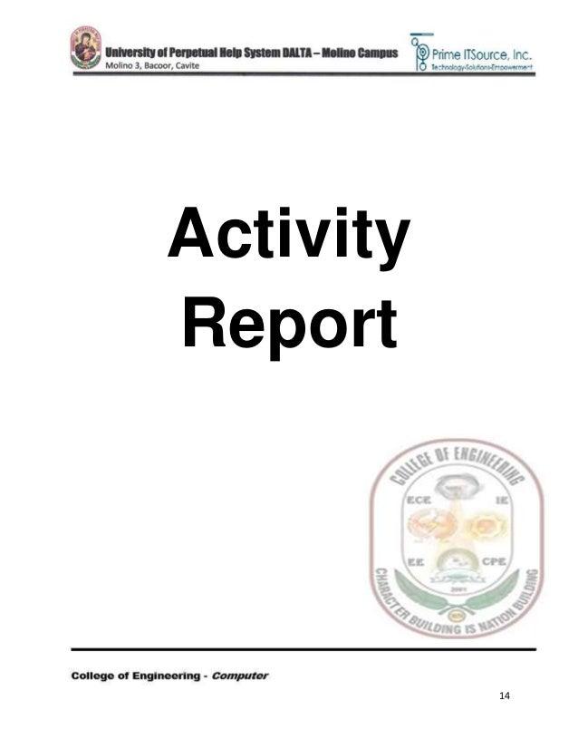 narrative report in ojt