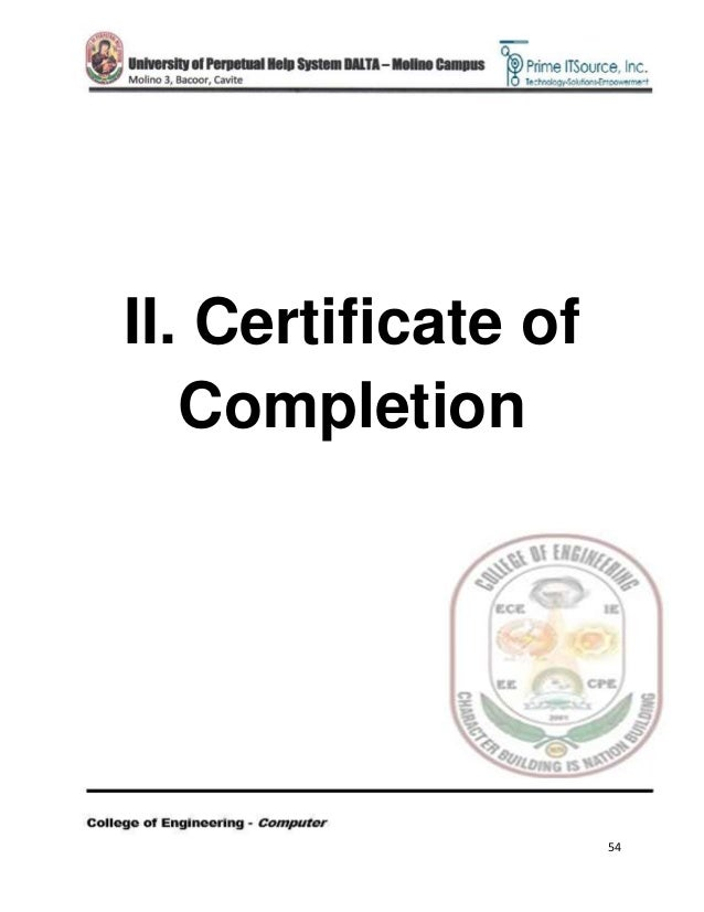 Ojt narrative report certificate of completion yadclub Image collections