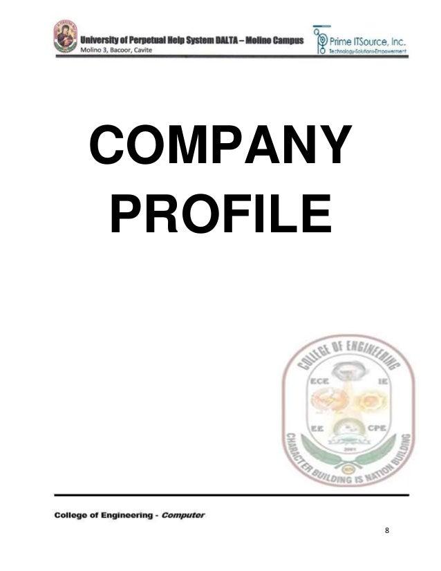 8 company profile