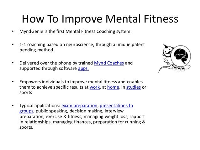 Improve Performance, Mental Fitness & Remove Stress | Help by Trained Coaches | MyndGenie, India Slide 3