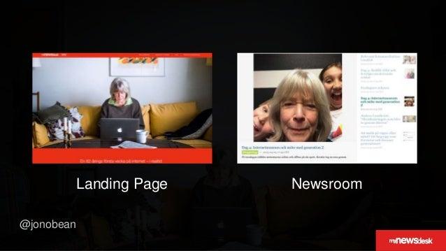 @jonobean NewsroomLanding Page