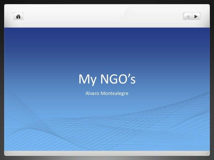 My NGO's Alvaro Montealegre