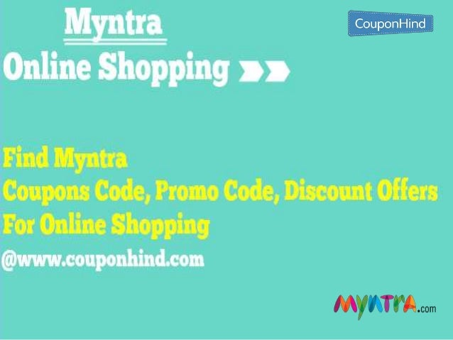Myntra discount coupons for today