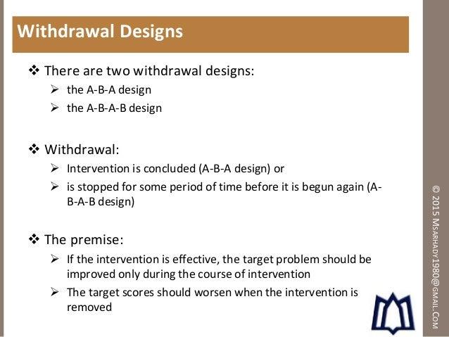 aba single subject design examples