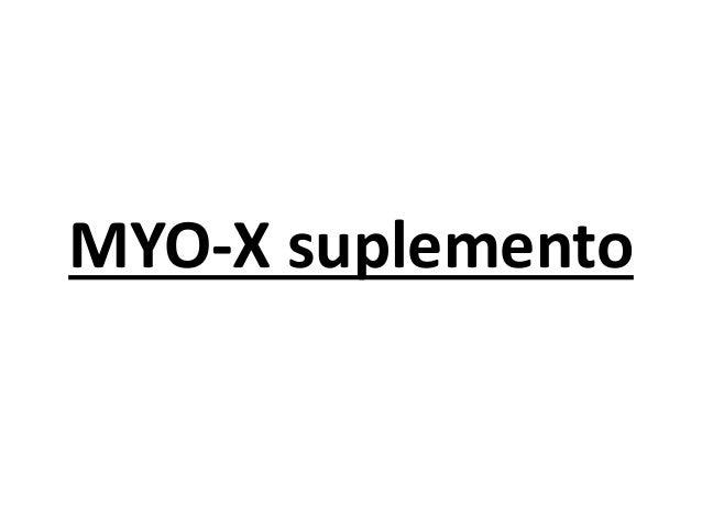 MYO-X suplemento