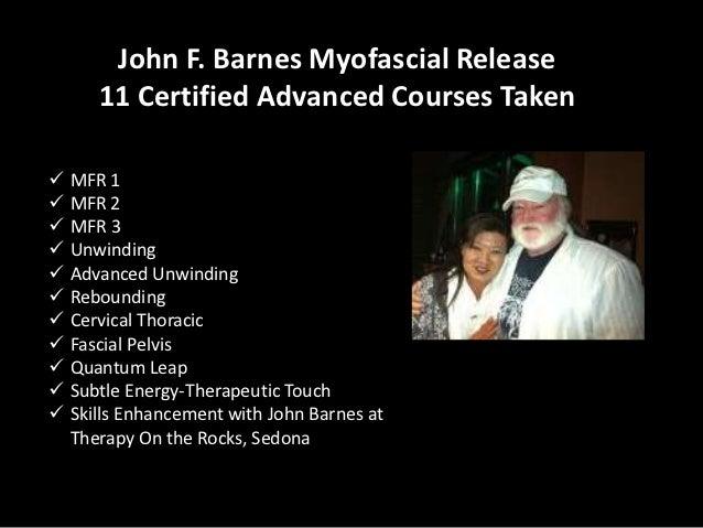 Myofascial Release Presentation
