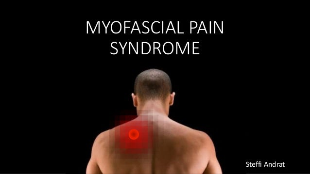 myofascial pain dysfunction syndrome review pdf
