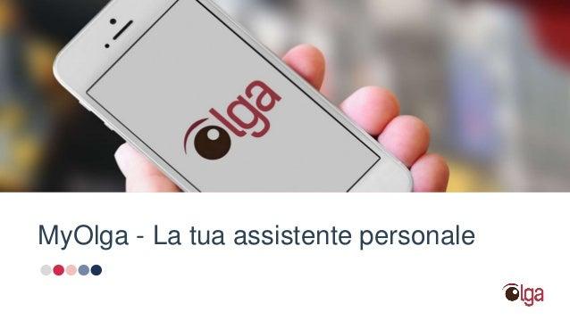 MyOlga - La tua assistente personale