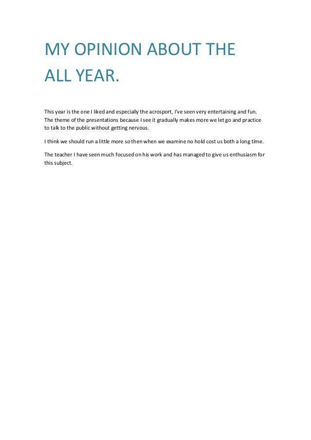 MY OPINION ABOUT THE ALL YEAR. This year is the one I liked and especially the acrosport, I've seen very entertaining and ...