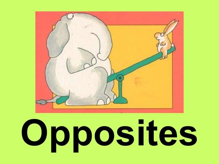 Image result for Opposites
