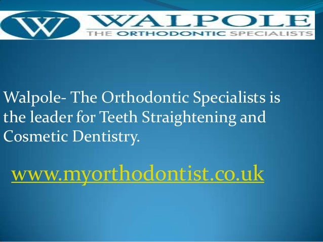 Walpole- The Orthodontic Specialists is the leader for Teeth Straightening and Cosmetic Dentistry.  www.myorthodontist.co....