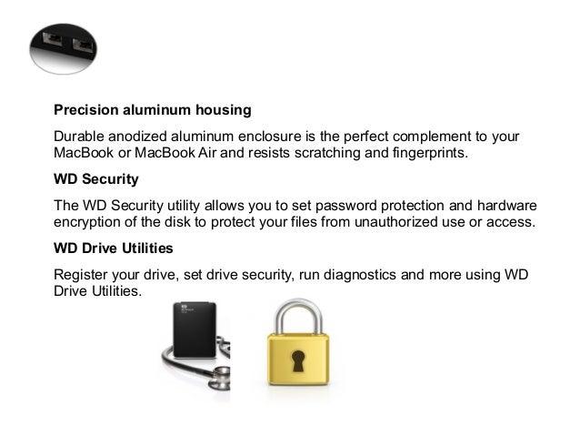 Western Digital My passport studio – hard drives to take away