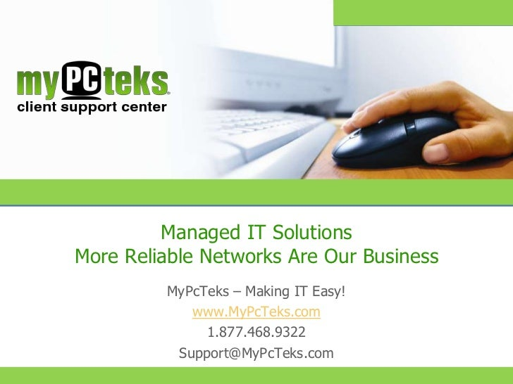 Managed IT Solutions                       More Reliable Networks Are Our Business                                        ...