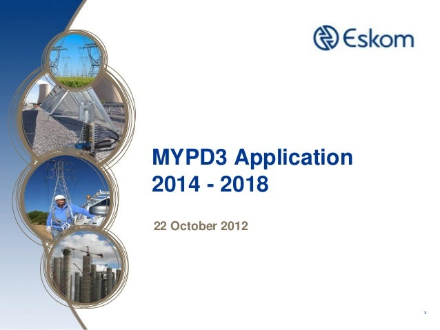 MYPD3 Application2014 - 201822 October 2012                    X