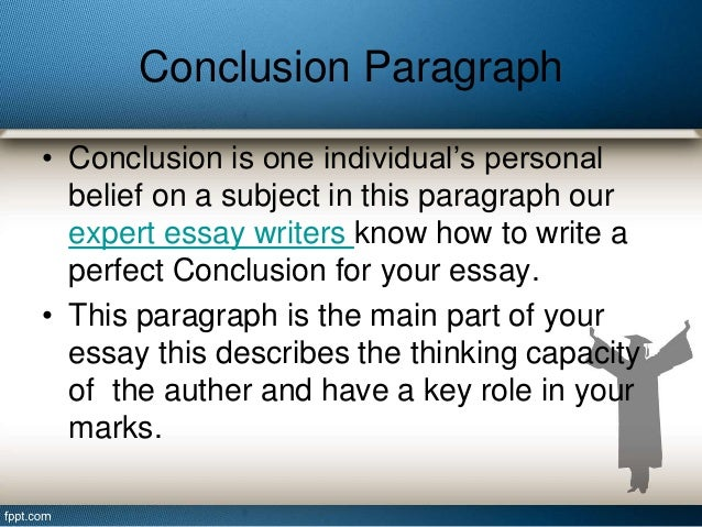 the perfect essay conclusion Write a unified, coherent essay about the increasing presence of intelligent machines in your essay, be sure to: clearly state your own perspective on the issue and analyze the relationship between your perspective and at least one other perspective.