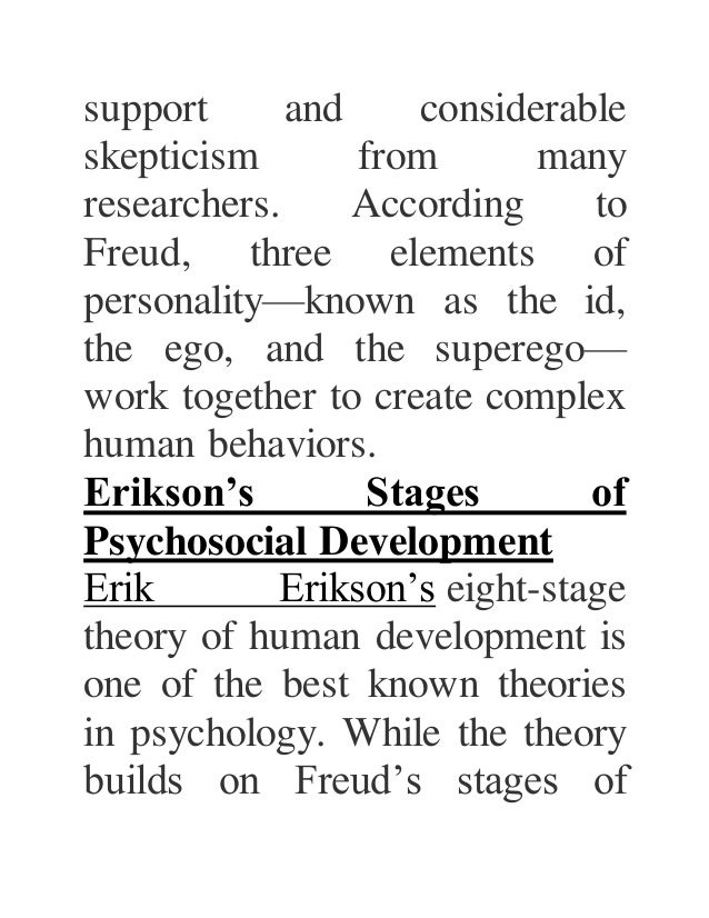 character analysis according freud Ever since sigmund freud analyzed the life and art of leonardo da vinci, in 1910,  according to a person with direct knowledge of the matter the first,.