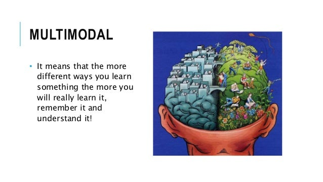 multimodal understanding styles