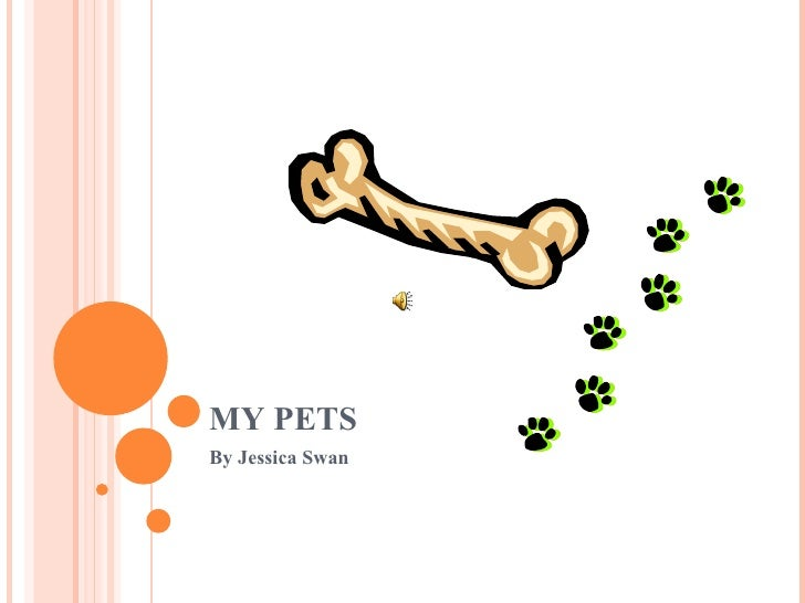 MY PETS By Jessica Swan
