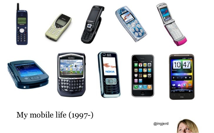 My mobile life (1997-)                         @ingjerd