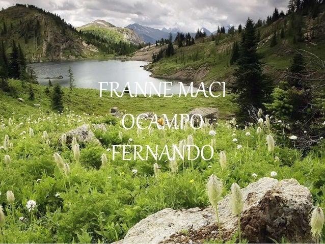 FRANNE MACI OCAMPO FERNANDO