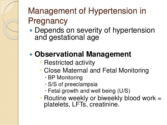 thesis on pregnancy induced hypertension Associations between pregnancy-related complications, work and non-work  physical  in 2000, the worldwide prevalence of hypertension in females was.