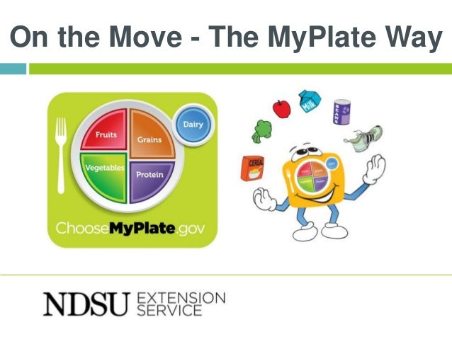On the Move - The MyPlate Way