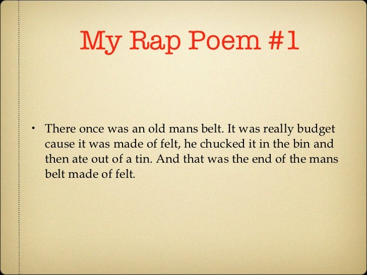Rap poetry for kids : Lady eyelash extensions