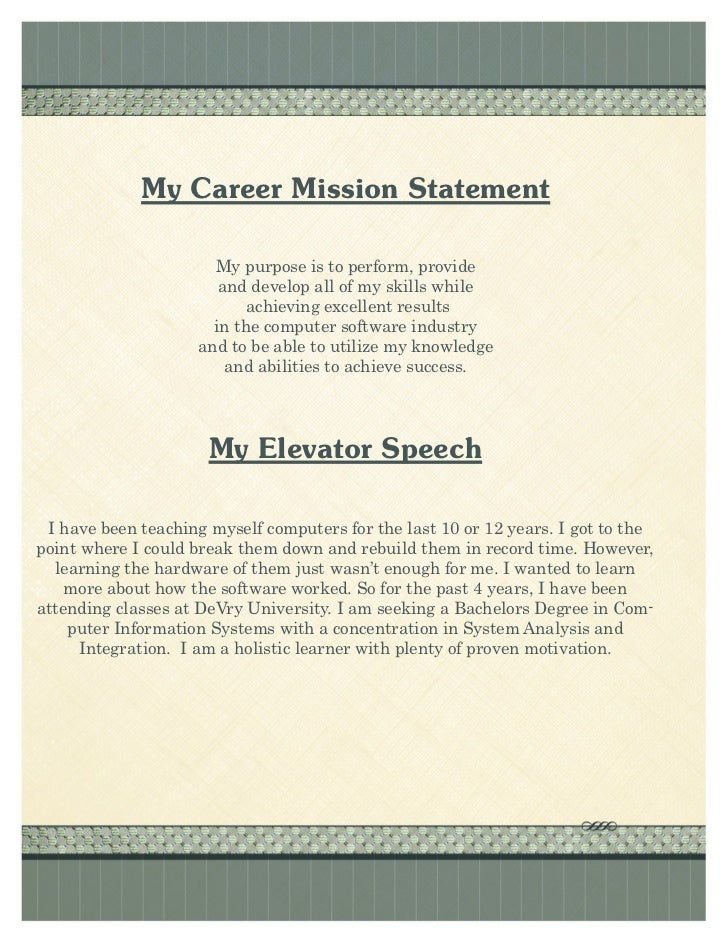 Resume Statements Examples Top Objectives For Resume Resume