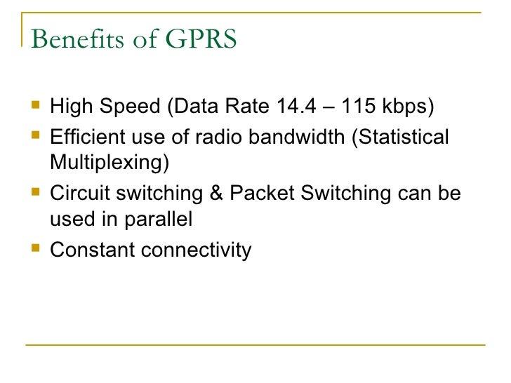 benefits of gsm
