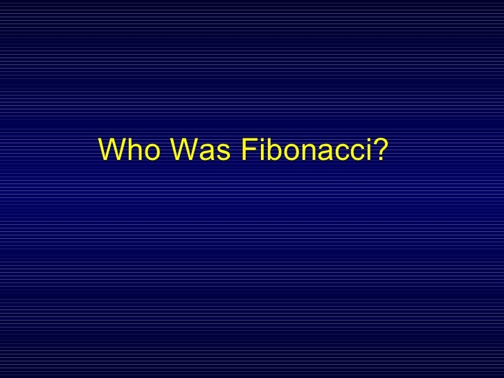 Fibonacci Sequence and Golden Ratio Slide 3