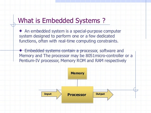 Real Time Os For Embedded Systems