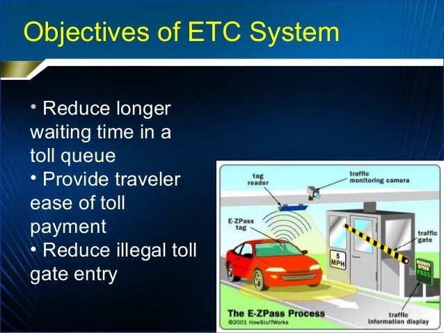 electronic toll collection system pdf