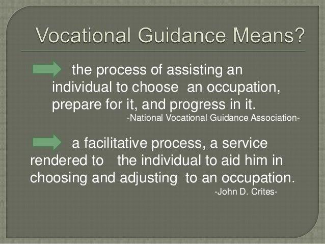 vocational guidance