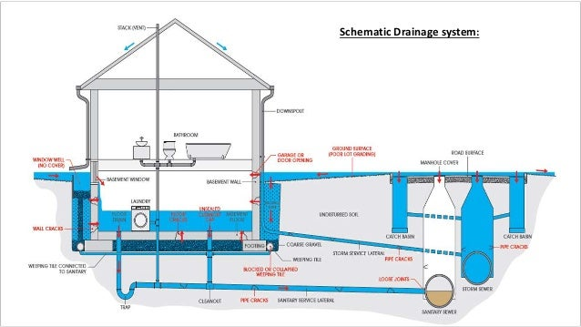 Drainage System For A Building