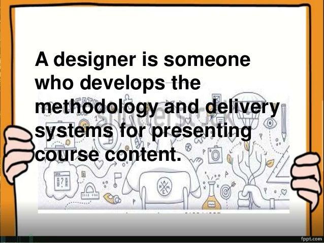 dick and carey instructional design