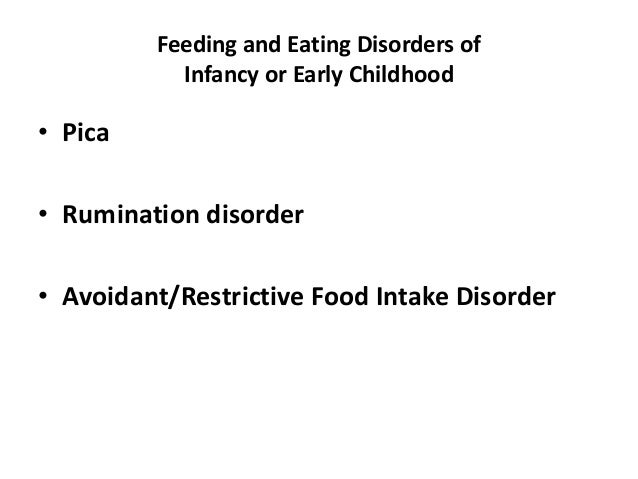 feeding and eating disorders pdf