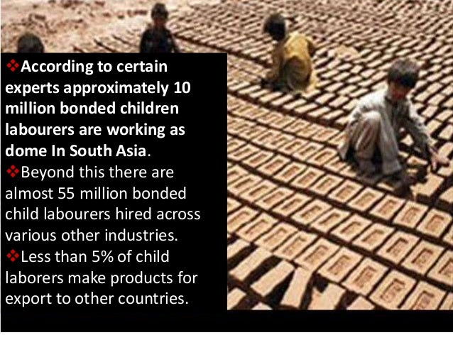 ppt on child labour child labor