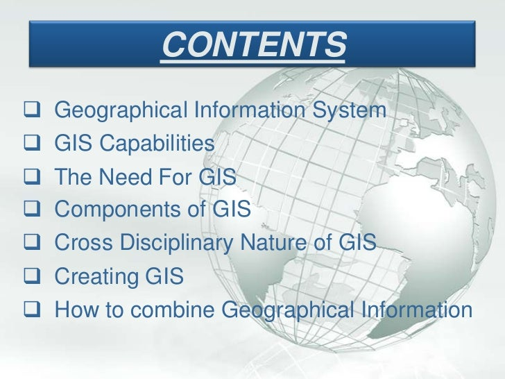 my ppt on gis With gis powerpoint templates