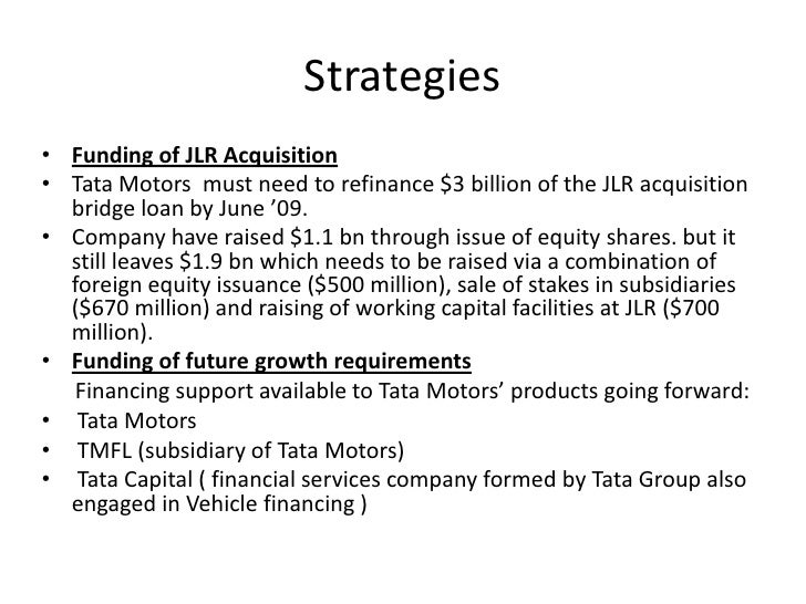 tata and ford acquisition