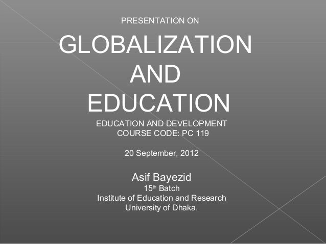 negative impact of globalisation on indian education