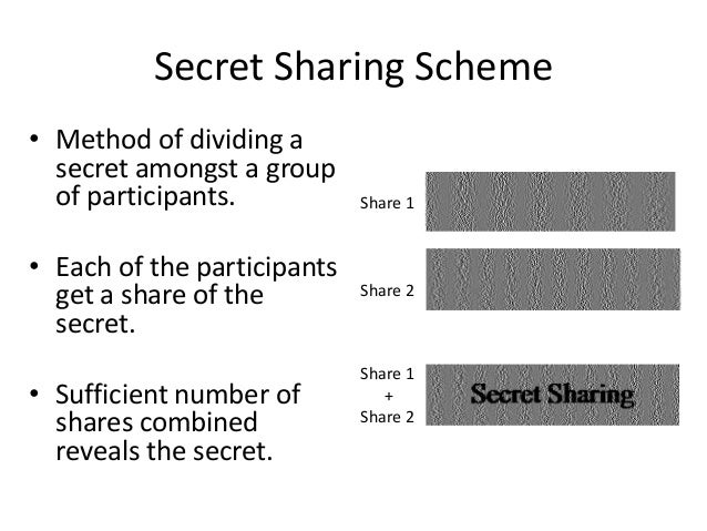 Multi-secret visual cryptographic scheme