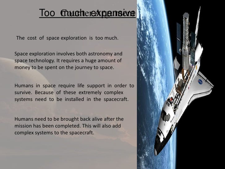 space exploration is a waste of time and money essay