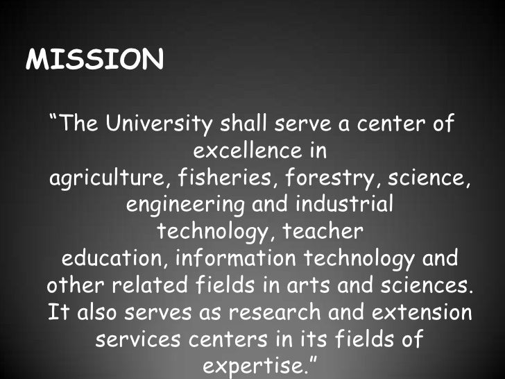 mission vision lspu Vision lspu shall be the center for sustainable development, transforming  lives and communities mission lspu provides quality education through.