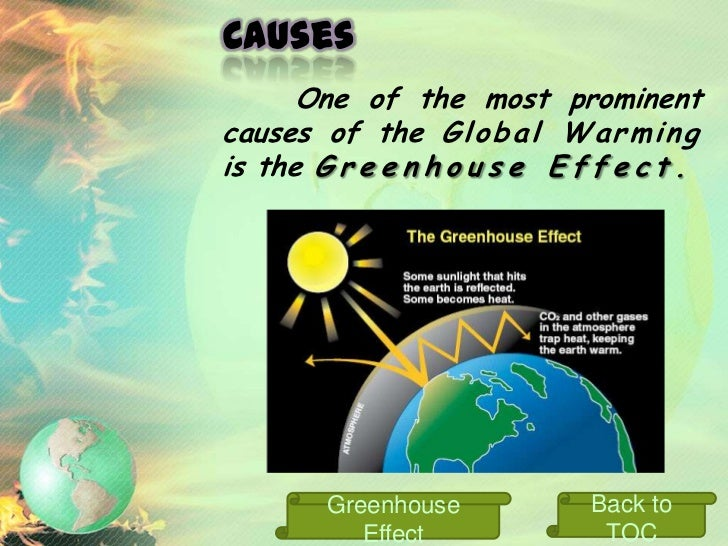 Greenhouse Effect    The partial trapping of solar    radiation    by     a    planetary    atmosphere,     similar   to  ...