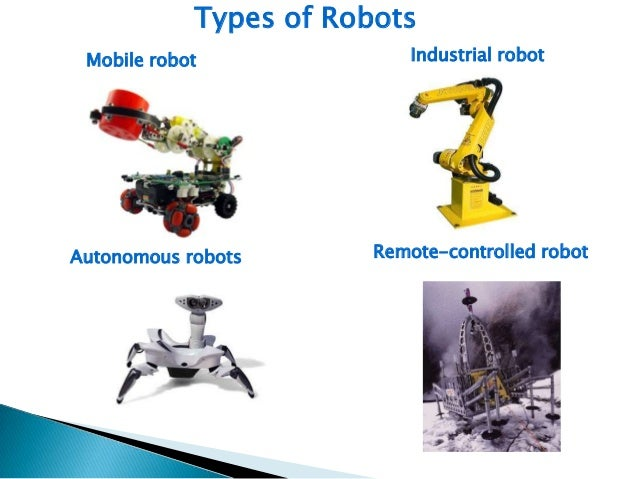 how to make different types of robots